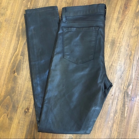 J Brand Denim - J Brand Super Skinny Faux Leather Pants